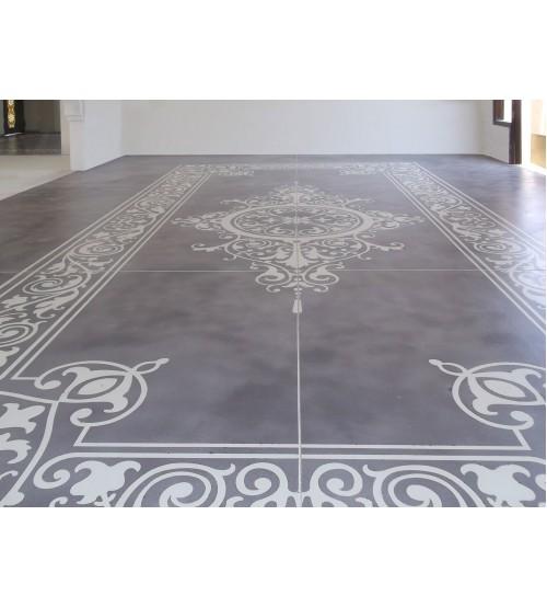 Венецианские полы с трафаретным узором Marmorino Floor PRTA-0009022-XX #406