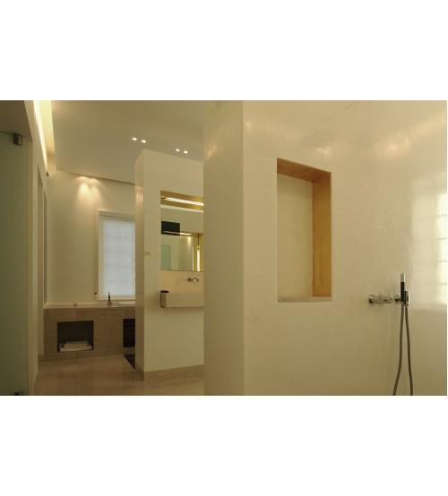 Венецианская штукатурка в ванной Marmorino Carrara PRTA-310388-XX #342