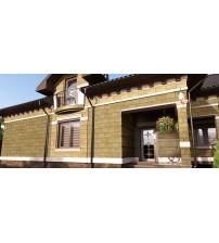 Фасад с эффектом травертина Intonachino Fine PRTA-0511XX #269